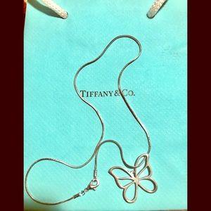 Butterfly Tiffany  & Co. pendant